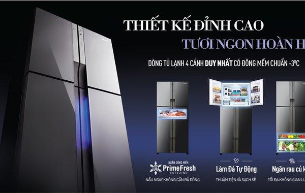 Công nghệ bảo quản thực phẩm trên tủ lạnh Panasonic