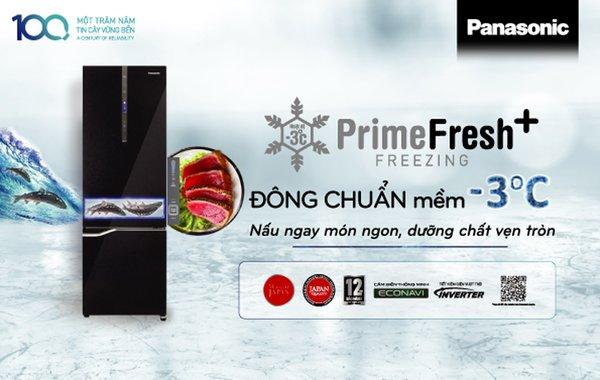 Công nghệ cấp đông mềm trên tủ lạnh Panasonic