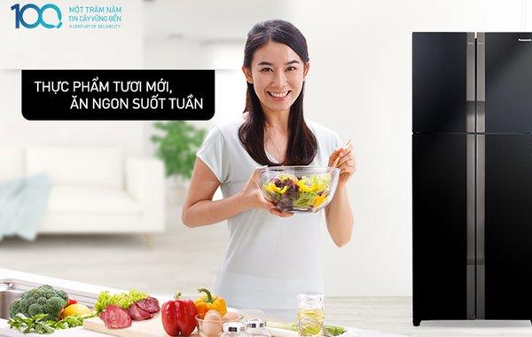 Công nghệ khử mùi kháng khuẩn trên tủ lạnh Panasonic