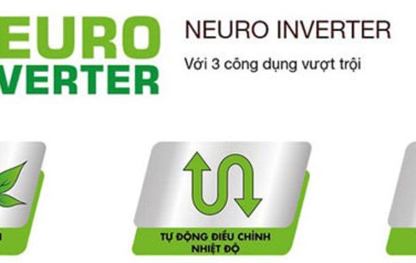 Công nghệ Neuro Inverter trên tủ lạnh Mitsubishi