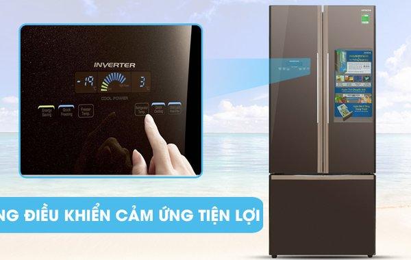 Hướng dẫn sử dụng bảng điều khiển tủ lạnh Hitachi R-WB475PGV2, R-WB545PGV2