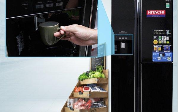 Hướng dẫn sử dụng bảng điều khiển tủ lạnh Hitachi R-M700GPGV2X