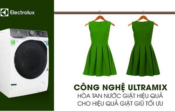 Một số tính năng hiện đại trên máy giặt Electrolux