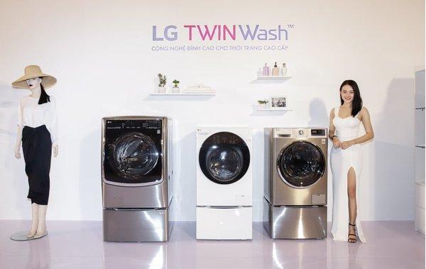 Công nghệ giặt mới nhất trên trên máy giặt LG TWINWash