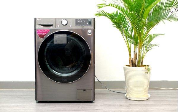 Máy giặt LG tích hợp tích hợp trí tuệ nhân tạo AI DD