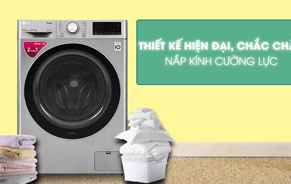 Top 10 máy giặt LG cửa trước tốt nhất hiện nay
