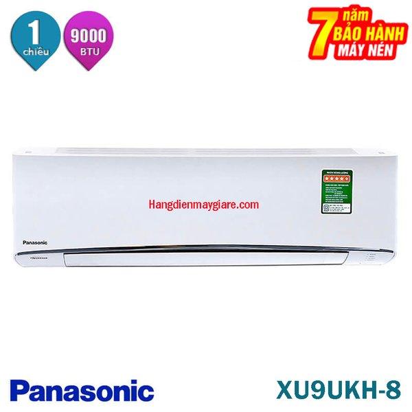Điều hòa Panasonic 9000Btu 1 chiều Inverter XU9UKH-8