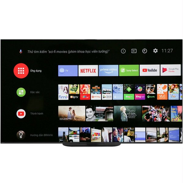 Tivi OLED Sony KD-55A9G 55 inch 4K Android mới 2019