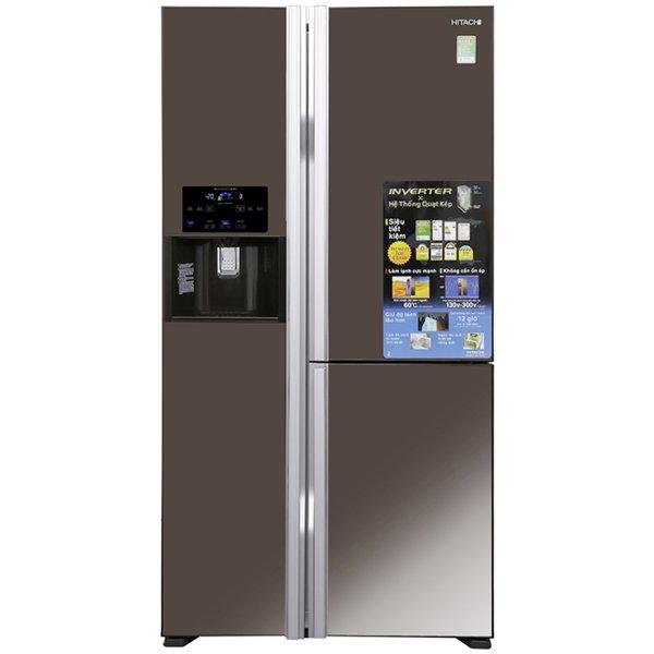 Tủ lạnh Hitachi Side By Side R-FM800GPGV2X (MBW) 584L Inverter