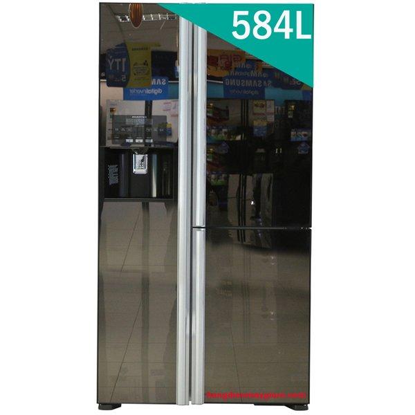 Tủ lạnh Hitachi R-M700GPGV2X Side By Side 3 cửa 584L, Inverter