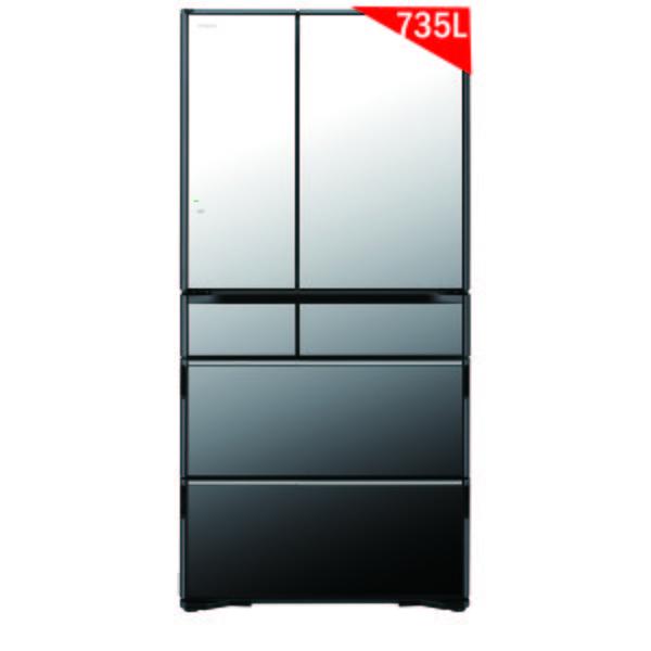 Tủ lạnh Hitachi R-WX74J (X) 735 lít 6 cửa - Nội địa Nhật 2018
