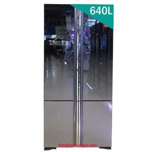 Tủ lạnh Hitachi R-WB800PGV5 (XGR) 640 lít 4 cửa Inverter