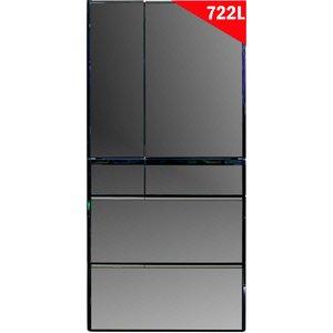 Tủ lạnh Hitachi R-X670GV (X) 722 lít 6 cửa - Nhập Khẩu Nhật Bản