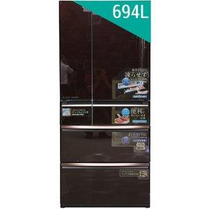 Tủ lạnh Mitsubishi MR-WX71Y-BR 694 lít 6 cửa