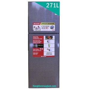Tủ lạnh Sharp SJ-X281E-DS 271 lít 2 cửa Inverter