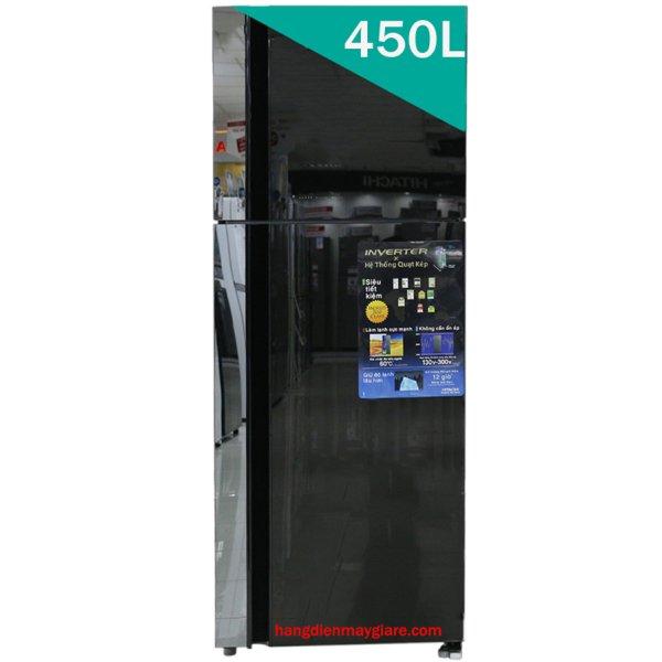 Tủ lạnh Hitachi R-FG560PGV8 (GBK) 450 lít Inverter