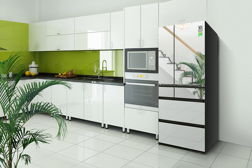 Tủ lạnh Panasonic 589 lít NR-F603GT-X2 6 cửa Inverter