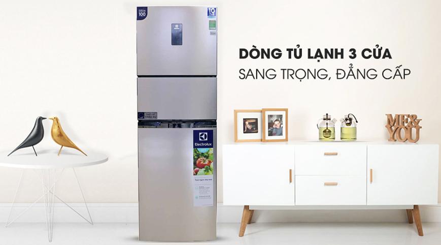 Tủ lạnh Electrolux 340 lít EME3700H-A Inverter