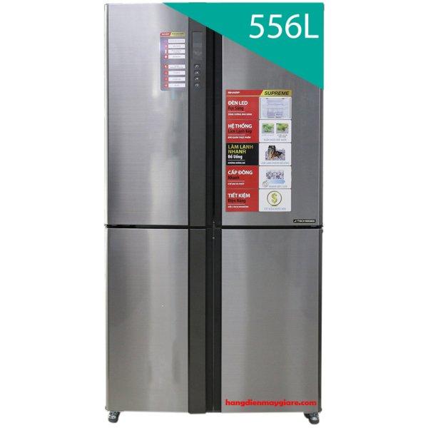 Tủ lạnh Sharp SJ-FX630V-ST 556 lít 4 cửa Inverter