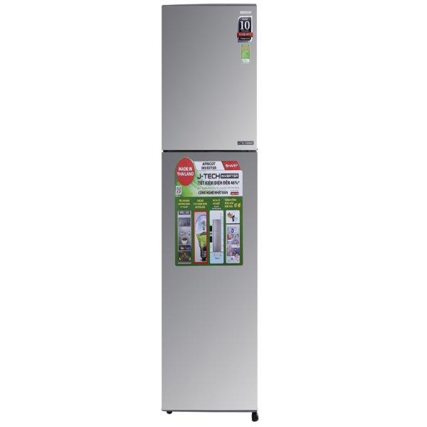 Tủ lạnh Sharp SJ-X251E-SL 241 lít 2 cửa Inverter