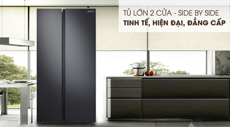 Tủ lạnh Samsung RS62R5001B4/SV 680 lít Inverter
