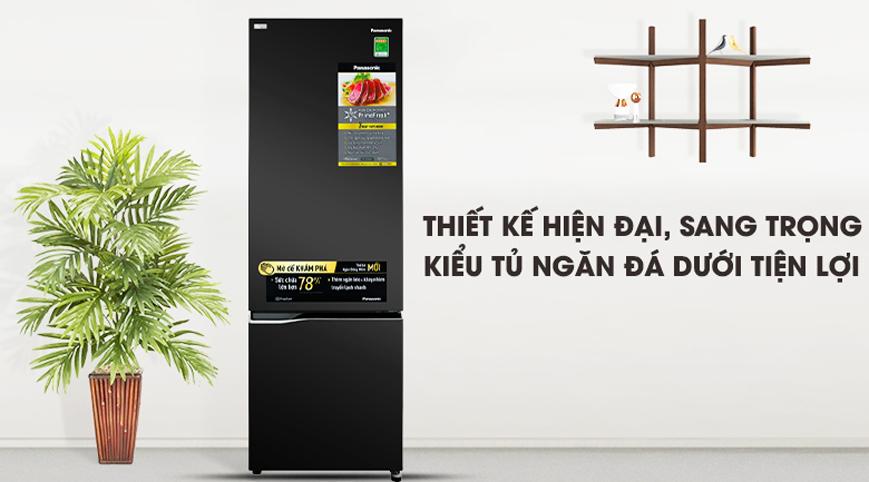 Tủ lạnh Panasonic NR-BC360QKVN 322 lít