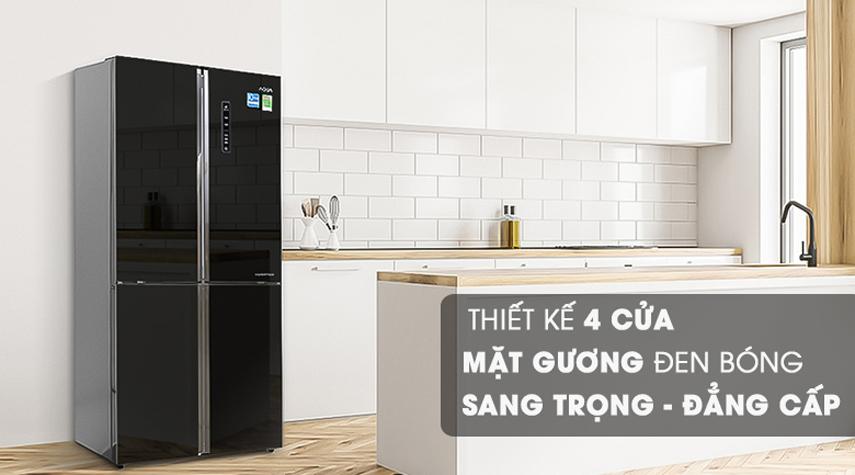 Tủ lạnh Aqua 516 lít AQR-IG525AM (GB) 4 cửa Inverter