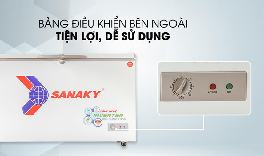 Tủ đông Sanaky VH-1199HY3 1100 lít Inverter