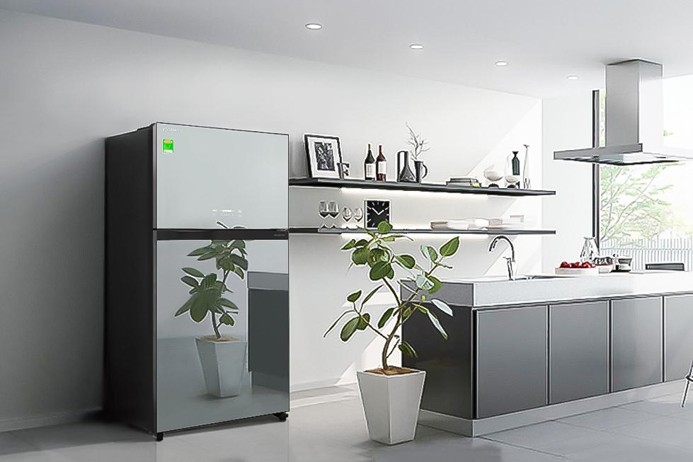 Tủ lạnh Toshiba GR-AG58VA (X) 555 lít Inverter