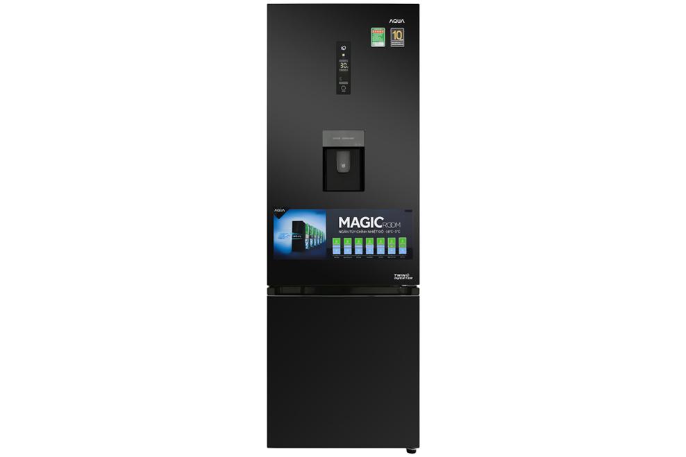 Tủ lạnh Aqua AQR-IW378EB (BS) 320 lít Inverter