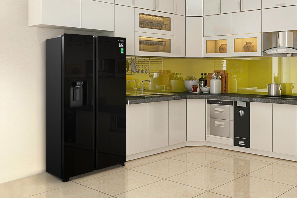 Tủ lạnh Samsung Side By Side 617 lít RS64R53012C/SV