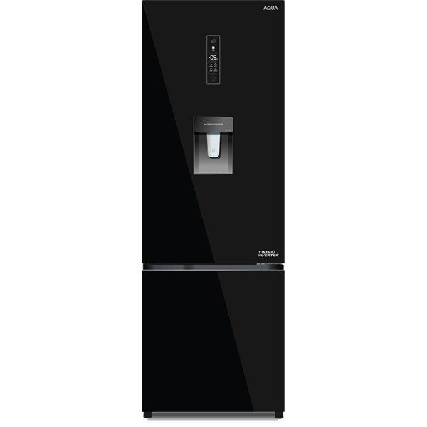 Tủ lạnh Aqua AQR-B379MA (BS) 350 lít Inverter
