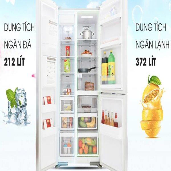 Tủ lạnh Hitachi 584 lít R-FM800GPGV2 (GS) 3 cửa Inverter