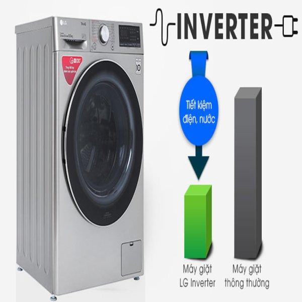 Máy giặt LG FV1408S4V 8.5 Kg Inverter