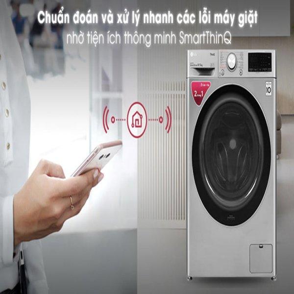 Máy giặt sấy LG FV1409G4V 9/5 Kg Inverter