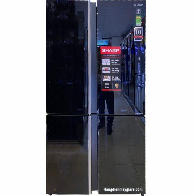 Tủ lạnh Sharp SJ-FXP600VG-BK 590 lít 4 cửa Inverter