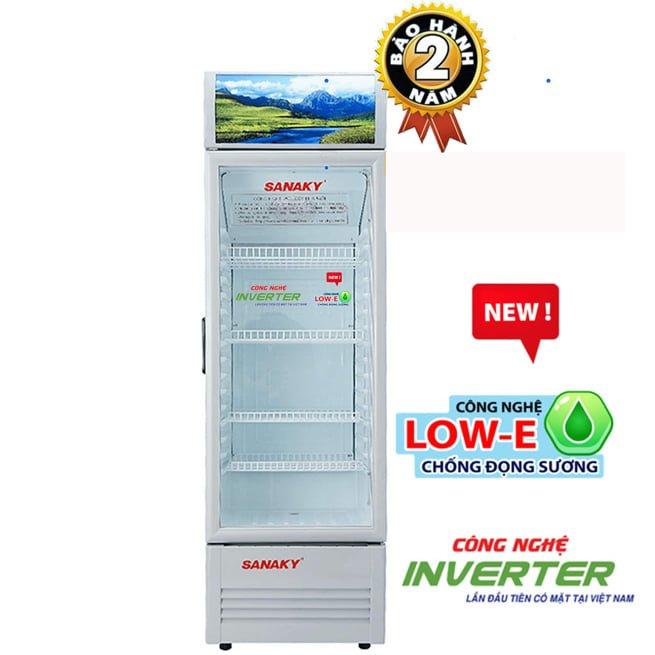 Tủ mát Sanaky VH-258K3L 210 lít Inverter