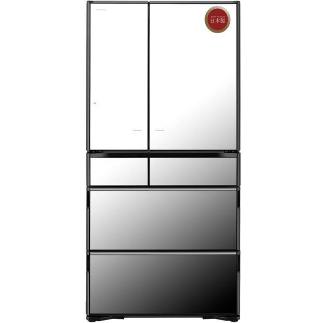 Tủ lạnh Hitachi R-ZX740KV(X) 735 lít 6 cửa Inverter