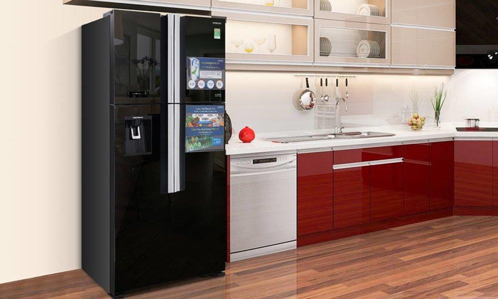 Giới thiệu tủ lạnh Hitachi 540 lít R-FW690PGV7X