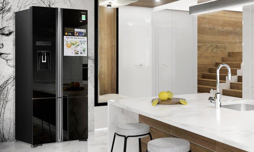Giới thiệu tủ lạnh Hitachi R-WB730PGV6X