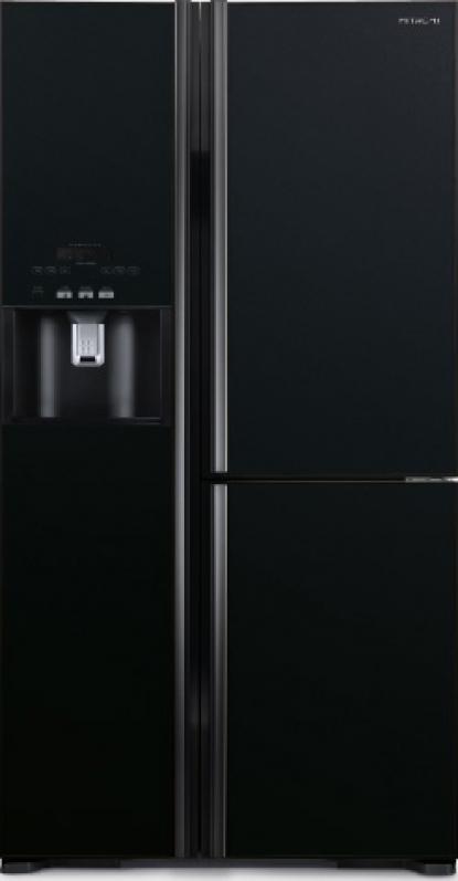 Tủ lạnh Hitachi Side By Side 3 cửa 584L R-M700GPGV2 màu đen