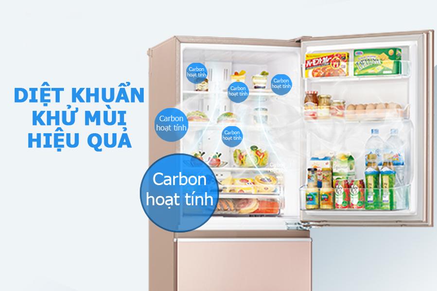 Tủ lạnh Mitsubishi MR-CX46EJ-PS 358 lít - Chính hãng giá tốt