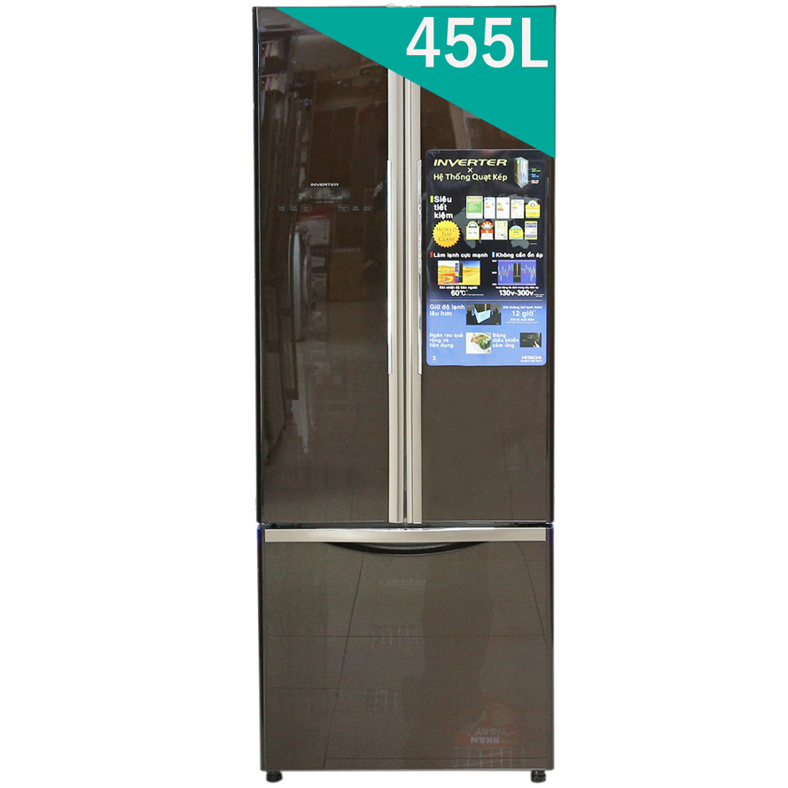 Tủ lạnh Hitachi R-WB455PGV2
